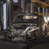 auto uitgebrand burgemeester