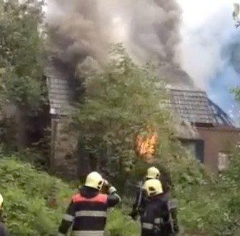 Grote brand ekkersrijt