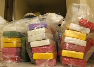 Ruim 250 kilo cocaïne gepakt in Antwerpen