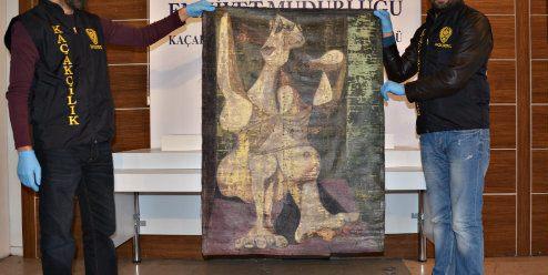 Gestolen Picasso gevonden na undercoveractie