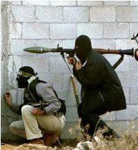 Kamper beschoten met anti-tank granaat