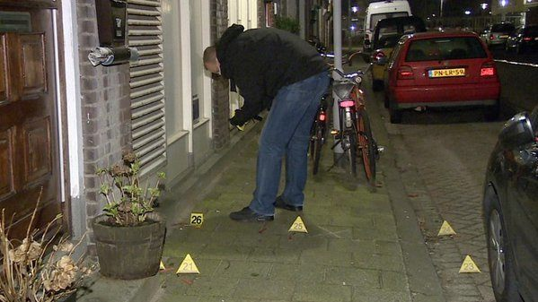 Hevige schietpartij in Rotterdam