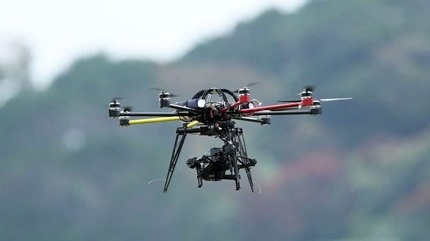 Mexicaanse drugskartels patrouilleren met drones