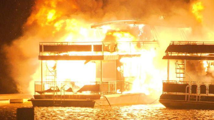 Directeur jachthaven opgepakt om branden
