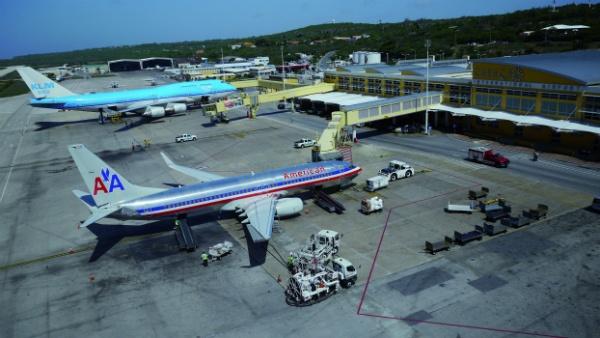 Drugs in bagagetrolley op vliegveld Curaçao