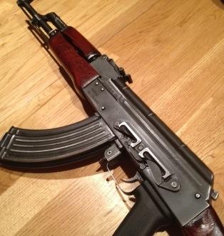 AK47 in kinderkamer Amsterdam