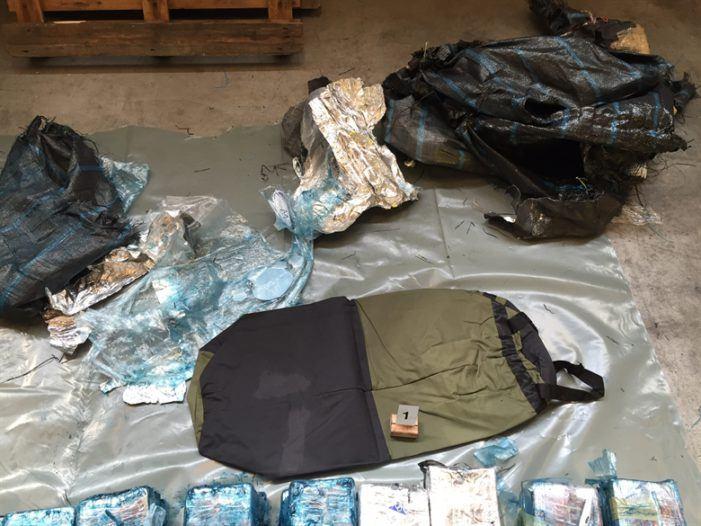 Bijna 100 kilo cocaïne uit Ecuador gepakt