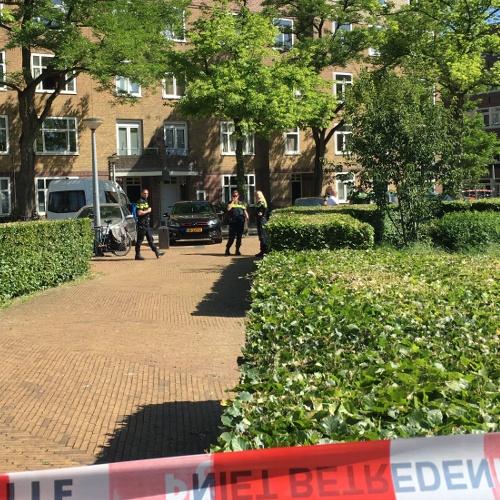Vrouw neergeschoten in Amsterdam-Zuid (VIDEO)