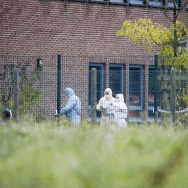 Brandstichting bij Belgische NFI