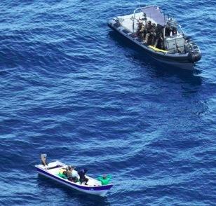 Caraïbische kustwacht vist opnieuw cocaïne op