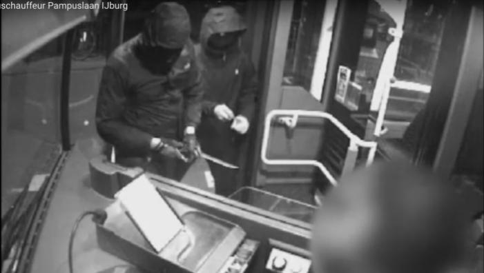 Beeld en geluid van overval op buschauffeur (VIDEO)