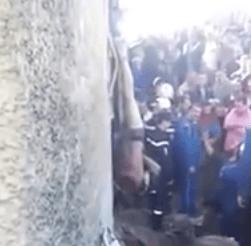 Zo wordt een Algerijnse dief gestraft (VIDEO)