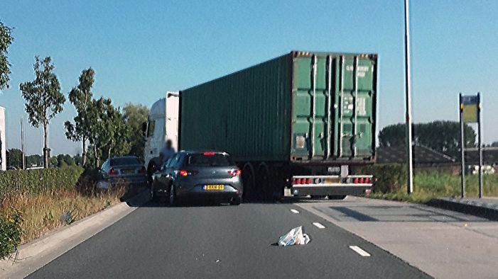 Celstraffen voor overval op vrachtwagen met coke