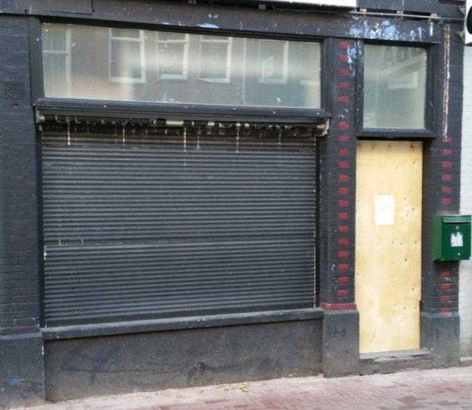 Sishalounge Ten Katestraat dicht