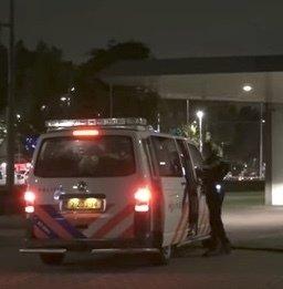 Man beschoten in centrum Rotterdam