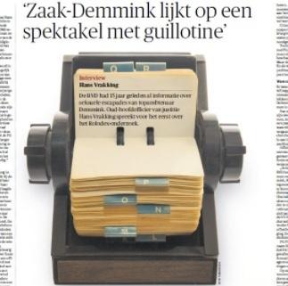 Dagbladen weigerden opiniestuk over Demmink