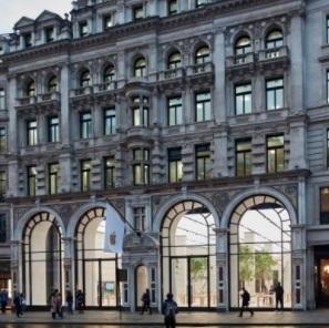 Apple store in Londen overvallen (VIDEO)