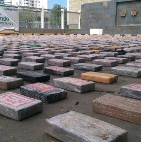 Recordlading cocaïne gepakt in Colombia (UPDATE)