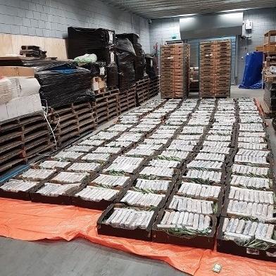 Ton cocaïne gevonden in Oudenbosch