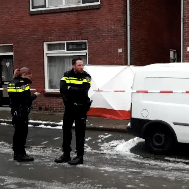 Dode man in Enschede