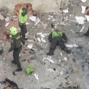 Doden door bomaanslagen in Colombia