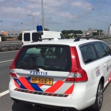 Achtervolging met 230 per uur op Ring Amsterdam