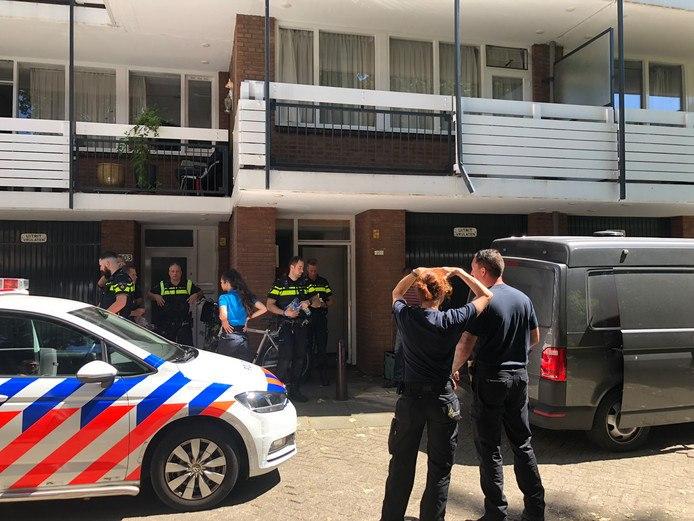 Drugslab ontmanteld in Den Haag