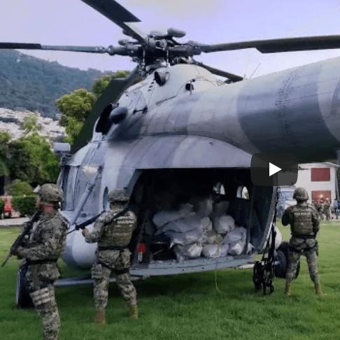 Mexicaanse marine achtervolgt coke-boot (VIDEO)
