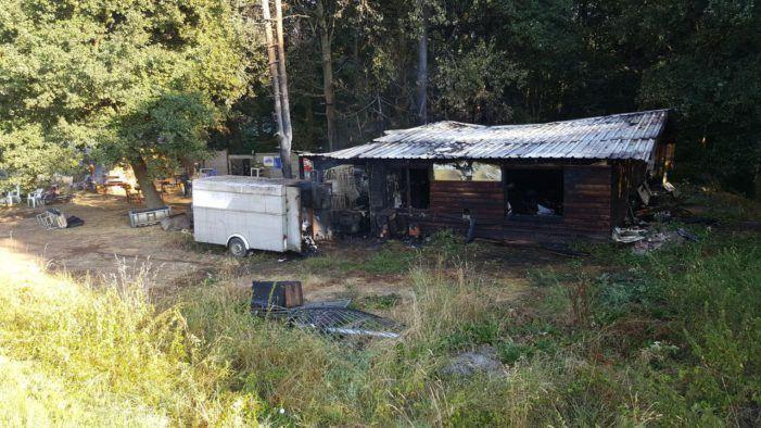 Belgisch clubhuis Satudarah uitgebrand