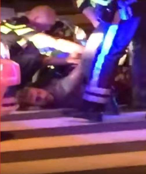Politie rijdt Dave Roelvink klem na achtervolging