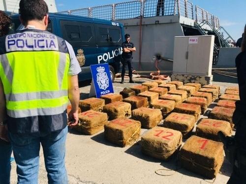 Nog nooit zoveel cocaïne naar Spanje