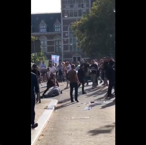 Vijf hooligans opgepakt na Nederland-Duitsland