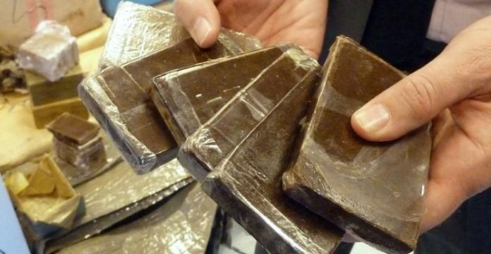 1,5 ton hasj onderschept in Marrakech