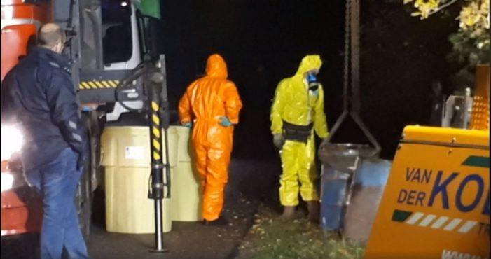 Weekend vol drugsafval in Twente