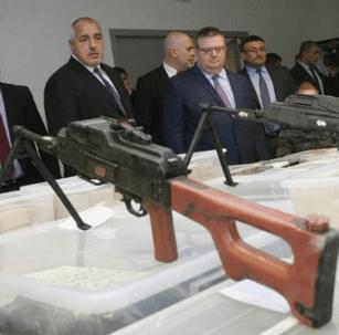 Recordvangst van zwaardere wapens in Bulgarije (UPDATE)