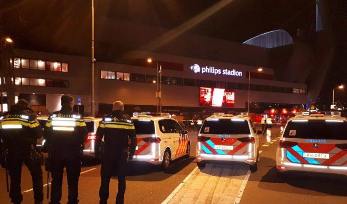 Twee gewonden bij schietpartij buiten supporterscafé PSV
