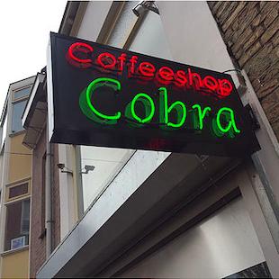 Coffeeshop beschoten in Tiel