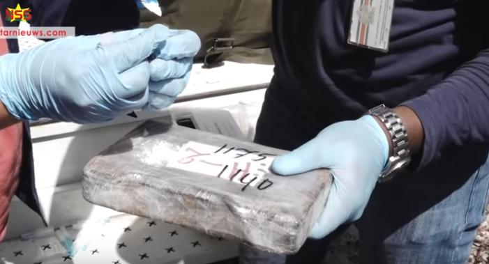 Tien verdachten vast in Surinaamse mega-cokezaak (VIDEO)