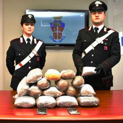 Nederlandse chauffeur in Italië gepakt met 20 kg heroïne