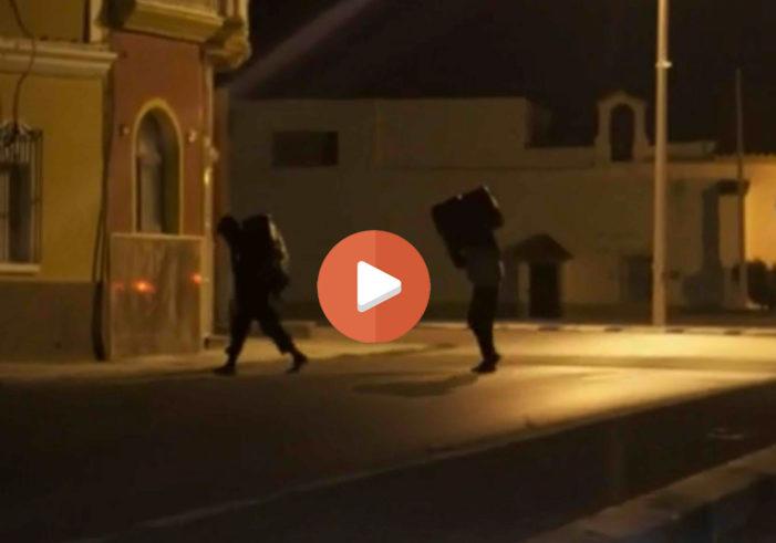 Spectaculaire beelden: smokkel van hasj uit Marokko
