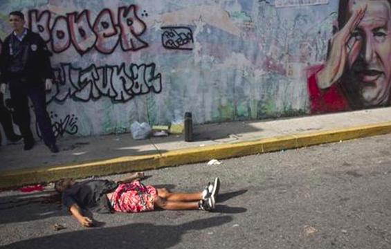 Venezuela 2018: meer dan 23.000 moorden