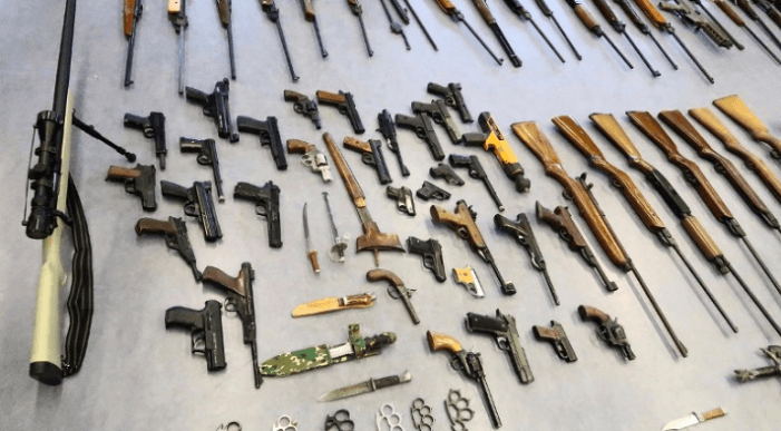 Rotterdamse actie: 262 wapens en 650 kilo munitie