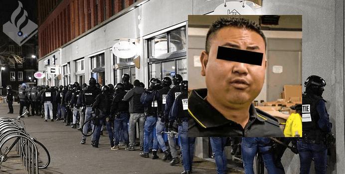 Politiemedewerker opgepakt voor witwassen bij grote actie spookwoningen (UPDATE)