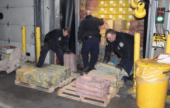 1500 kilo coke voor Rotterdam gepakt in New York
