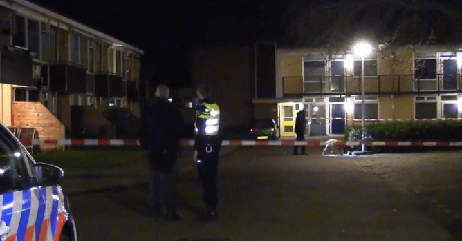 Huis beschoten in Enschede