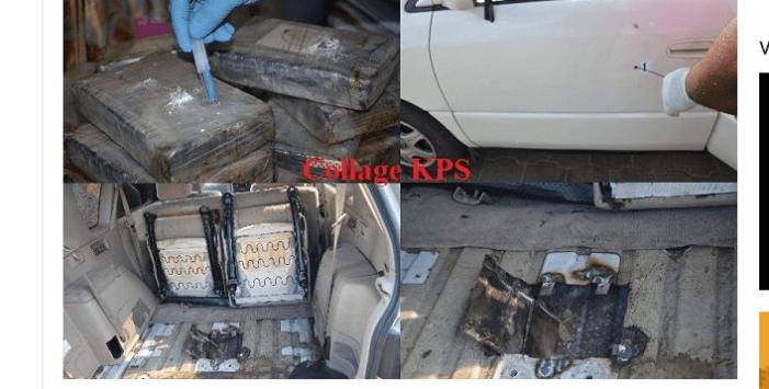 Politie Suriname neemt na mislukte rip 63 kilo cocaïne in beslag