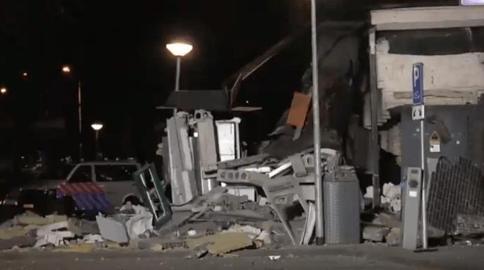 Verwoestende plofkraak in Doetinchem (VIDEO)