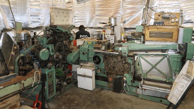 Illegale sigarettenfabriek opgerold