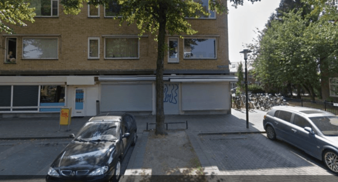 Winkel in Utrecht beschoten