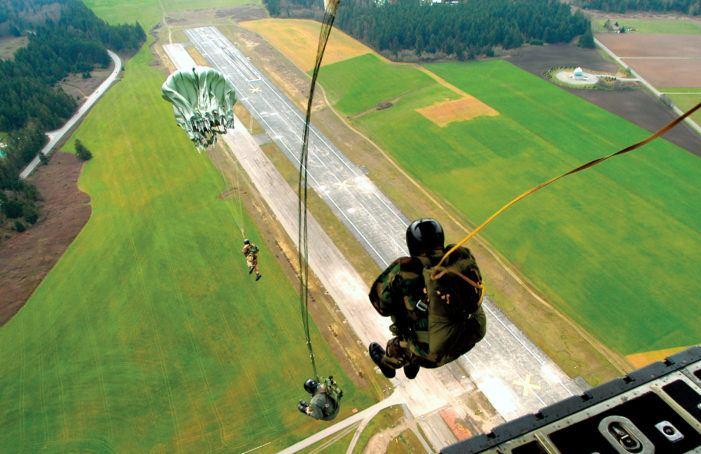 De bizarre Belgische parachutemoord